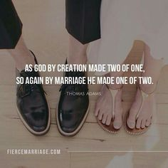 Christian singles....remember God's design of two from one and then one from two!