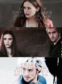 Quicksilver // Scarlet Witch // Pietro Maximoff // Wanda Maximoff // Avengers: Age of Ultron