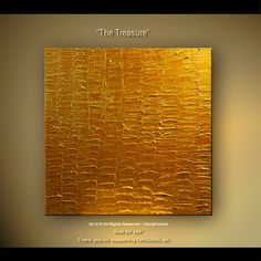 The Treasure - Abstract art by Osnat Tzadok