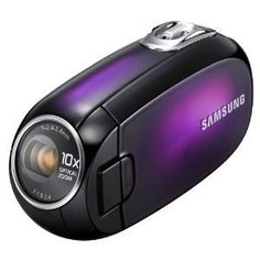 "Samsung SMX-C20 Ultra Compact ""Touch of Color"" Camcorder with 10x ..."