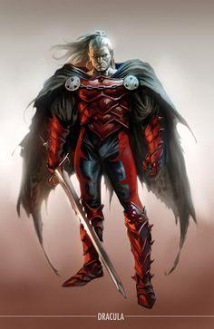 Vlad Dracula (modern appearance)