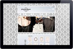 The website for austrian jewellery designer Johanna Bauer. Jewelry Website, Jewelry Design, Jewellery, Jewels, Schmuck, Jewelry Shop, Jewlery, Jewelery