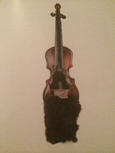 Planace skrzypce #asamblaz  #Hasior #surrealizm #contemporaryart pre #popart