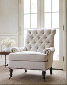Cambridge Chair - Huntley Herringbone Cream - 7724–C33 - Thibaut Fine Furniture