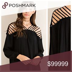 """Selling this The """"Lucy"""" blouse on Poshmark! My username is: slim1227. #shopmycloset #poshmark #fashion #shopping #style #forsale #Tops"""