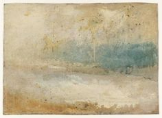Joseph Mallord William Turner, 'Waves Breaking on a Beach' ?c.1840-5 Oil on board