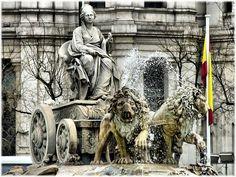 Fuente de las Cibeles, Madrid, Spain