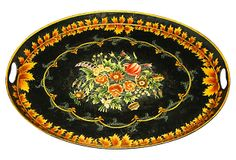 One Kings Lane - Provence & Beyond - French   Tole Tray. My tole tray... SOLD