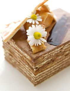 about Dobos Torte - multi-layered sponge cake on Pinterest | Torte ...