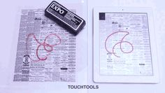 TouchTools from CMU and Future Interfaces Group offers human tools for manipulating touchscreens