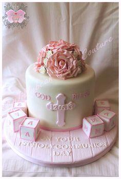 Holy Communion Cake - by Jilly1 @ CakesDecor.com - cake decorating website