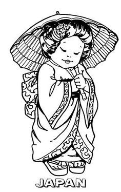 THE MAGICAL LAND OF SHRINKY DINKS Coloring Pages For Kids, Coloring Sheets, Coloring Books, Free Coloring, Colouring, Chinese Crafts, Kids Around The World, Japanese Flowers, Shrinky Dinks