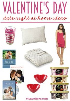 Valentines Day at-home date night ideas for you and your sweetie! #ad #ReasonToSpoon