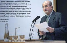 Salman Rushdie Je suis Charlie