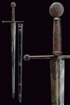 European Sword Dated: mid-16th Century Culture: German Measurments: overall length 110.5 cm