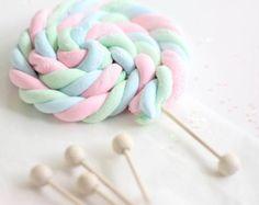 Marshmallow Rope Pops