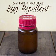 Recipe for DIY natural bug repellent for mosquitoes, sandflies, etc.