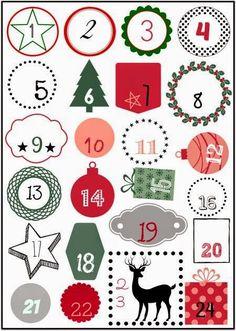 He comenzado un maratón en mi blog de manualidades dedicado a los calendarios de adviento   http://eljardindelossuenos.blogspot.com.es/    ...