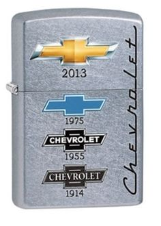 Chevy Street Chrome Zippo Lighter