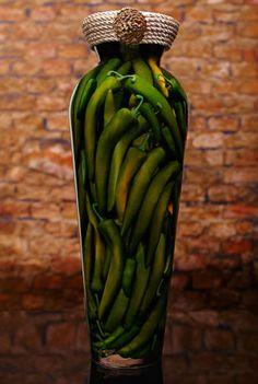 Sarabella Tuscan Art, Green Peppers