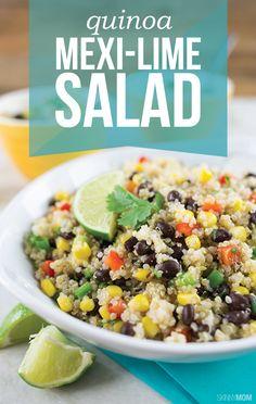 ... Quinoa Salad en Pinterest | Ensalada De Quinoa, Receta De Quinoa y