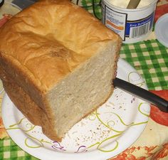 Extremely Soft White Bread (Bread Machine) Extremely Soft White Bread (Bread Machine) from : This is the softest white bread I have ever baked. It was sent to me via email and I cannot remember who sent it. This is the only recipe I use for white bread. Cooking Bread, Bread Baking, Cooking Recipes, Bread Bun, Bread Rolls, Bread Maker Recipes, Easy Bread Machine Recipes, Our Daily Bread, Wrap Recipes