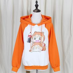 Japanese students kawaii hooded fleece pulover so cute pulover check it out?