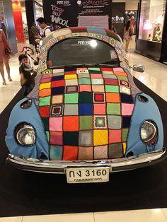 VW Beetle In Bangkok