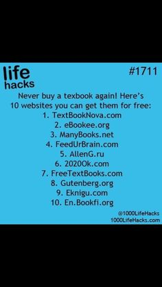 Never buy a textbook online again!