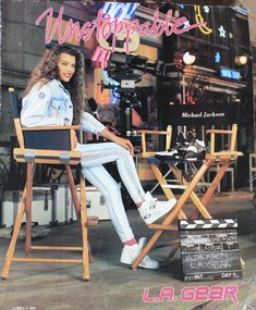 LA Gear...& a young Milla Jovovich