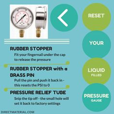 Your liquid filled pressure gauge isn't broken. Use this easy guide to set the PSI back to 0. ••••••••••••••••••••••••••••••••••••••••••• #plumbing #mechanicalengineering #poolpumps #poolplumbing #pressuregauge