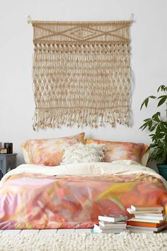 Natural Jute Wall Hanging - Urban Outfitters
