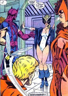 Mockingbird Returns to the West Coast Avengers