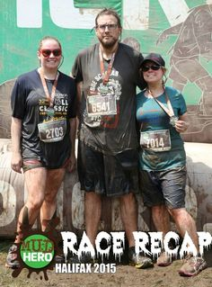 Race Recap - Mud Hero 2015 Halifax - www.yourhealthyyear.com