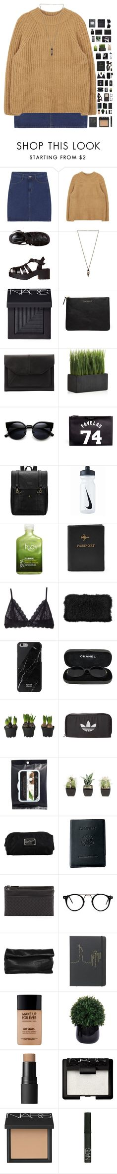 """gasoline"" by kamakira ❤ liked on Polyvore featuring Windsor Smith, Samantha Wills, NARS Cosmetics, Comme des Garçons, John Lewis, Crate and Barrel, Givenchy, NIKE, H2O+ and Eberjey"