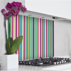 Wall Pops Colorful Kitchen Panel Wall Tiles - Wall Sticker Outlet