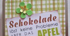 Schokolade löst keine Probleme...
