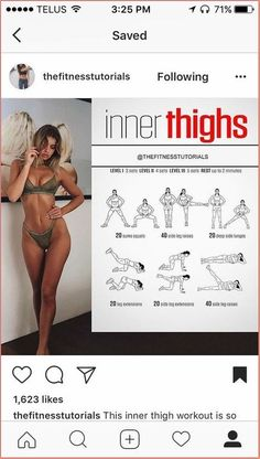 Fitness Workouts, Fitness Motivation, Fitness Workout For Women, Easy Workouts, Yoga Fitness, Inner Leg Workouts, Inner Thight Workout, Fitness Diet, Leg Workout Women