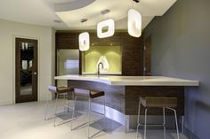 Contemporary Basement Design, Pictures, Remodel, Decor and Ideas - page 11