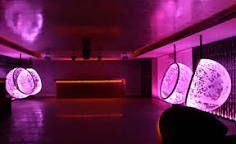 Image result for Cool Illuminated Bubble Chairs by Rousseau
