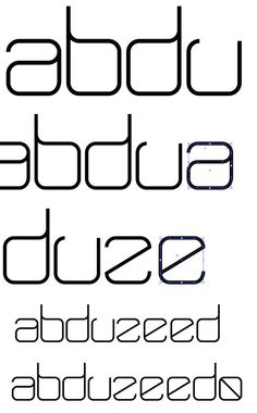 New Year Creating a New Typeface in Illustrator | Abduzeedo Design Inspiration
