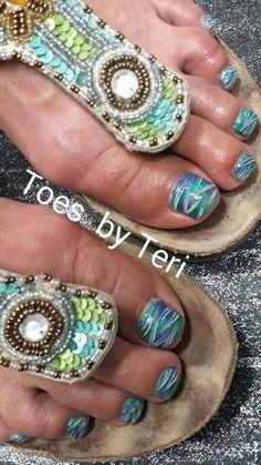 Fun summer Toes
