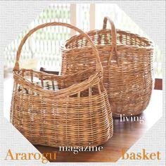 丈夫なアラログのバスケットがお部屋をナチュラルな空間にしてくれます!  アラログ バスケット   こちらは、マガジンバスケットとリビングバスケット。  色々なものを収納できて重宝するカゴ。    http://kanden43.tokyo/SHOP/122508/list.html  #アラログ #バスケット  #マガジンバスケット #リビングバスケット #籐 #カゴ #ナチュラル #ナチュラル雑貨 #ナチュラル系 #セレクトショップ