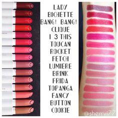 Colourpop lippie stix swatches!#colourpop#colourpoplippiestix#lippiestix