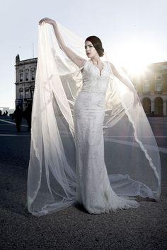Model: Maragarida Moreira Dress: Elsa Barreto