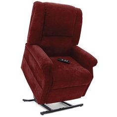 Mega Motion Windermere FC-101 Infinite Position Power Lift Chair Recliner in Burgundy MO-FC-101 available for Sale at CarolinaRustica.com.