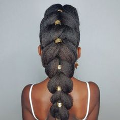 Pullthroughbraid- hairstyles for kinky girls
