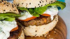 Nadia Lim's Indian-spiced lamb burgers | Stuff.co.nz