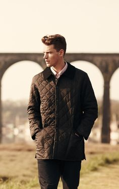 Classic Barbour Liddesdale Jacket #fashion #style