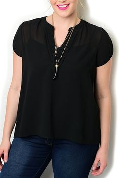 http://www.dhstyles.com/Black-Plus-Size-Sexy-Dressy-Sheer-Pleated-V-Neck-C-p/zeno-4198x-black.htm